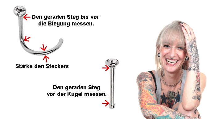 Piercing Nasenstecker